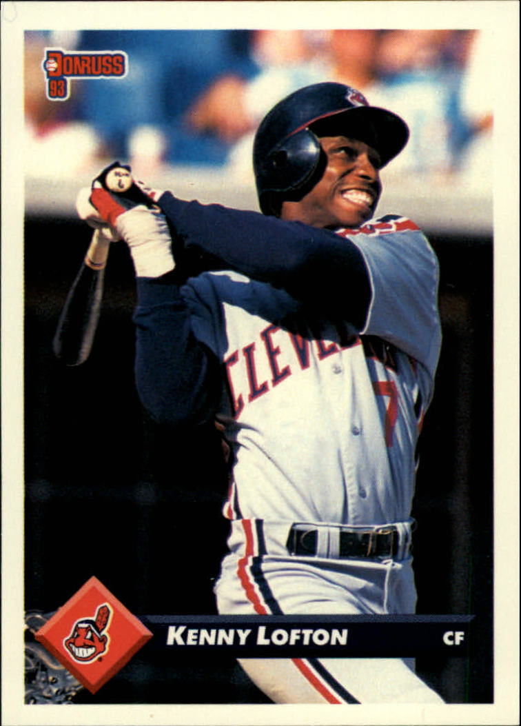 1993 Donruss #537 Kenny Lofton