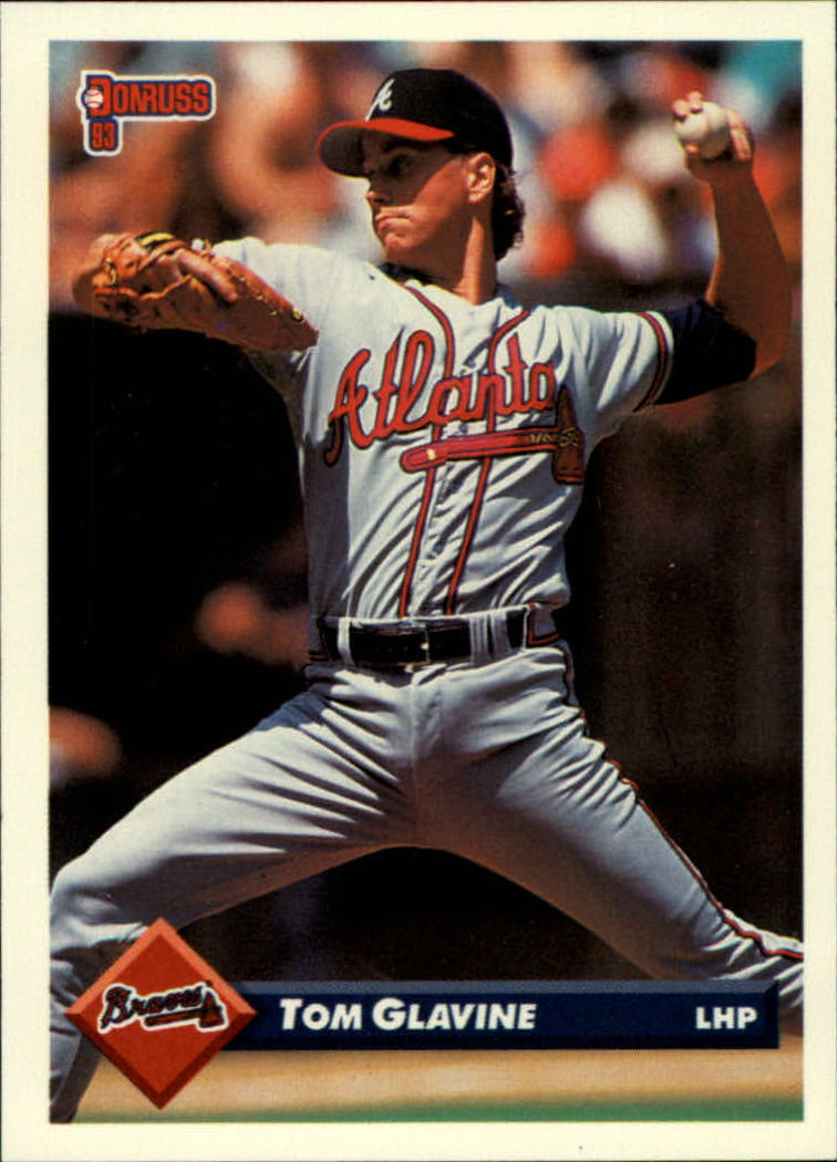 1993 Donruss #554 Tom Glavine
