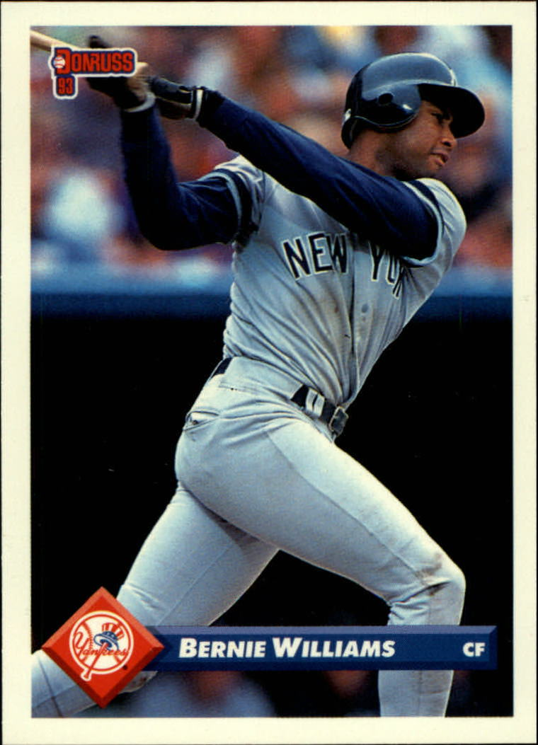 1993 Donruss #577 Bernie Williams