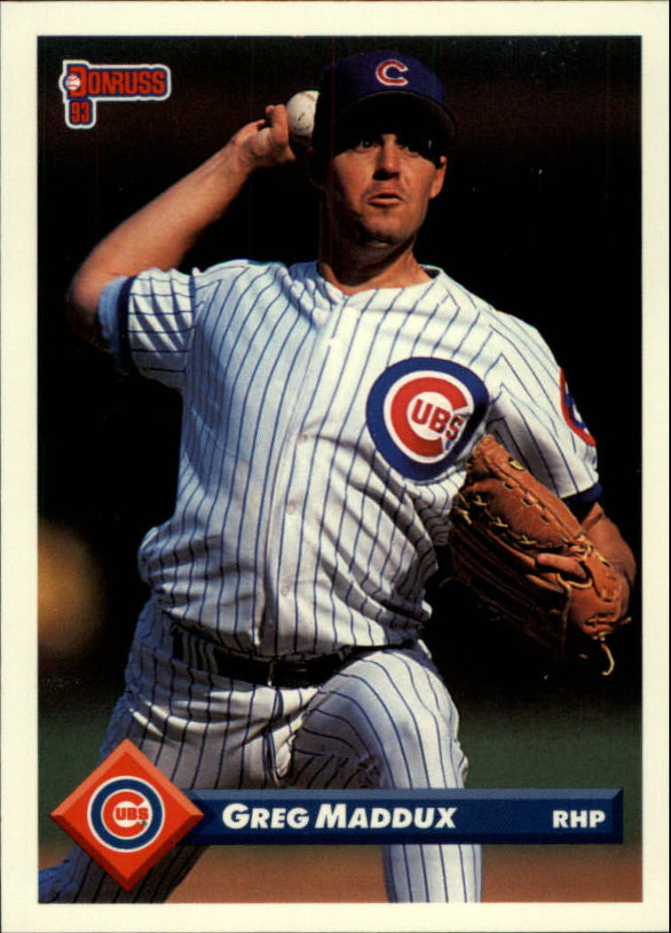 1993 Donruss #608 Greg Maddux