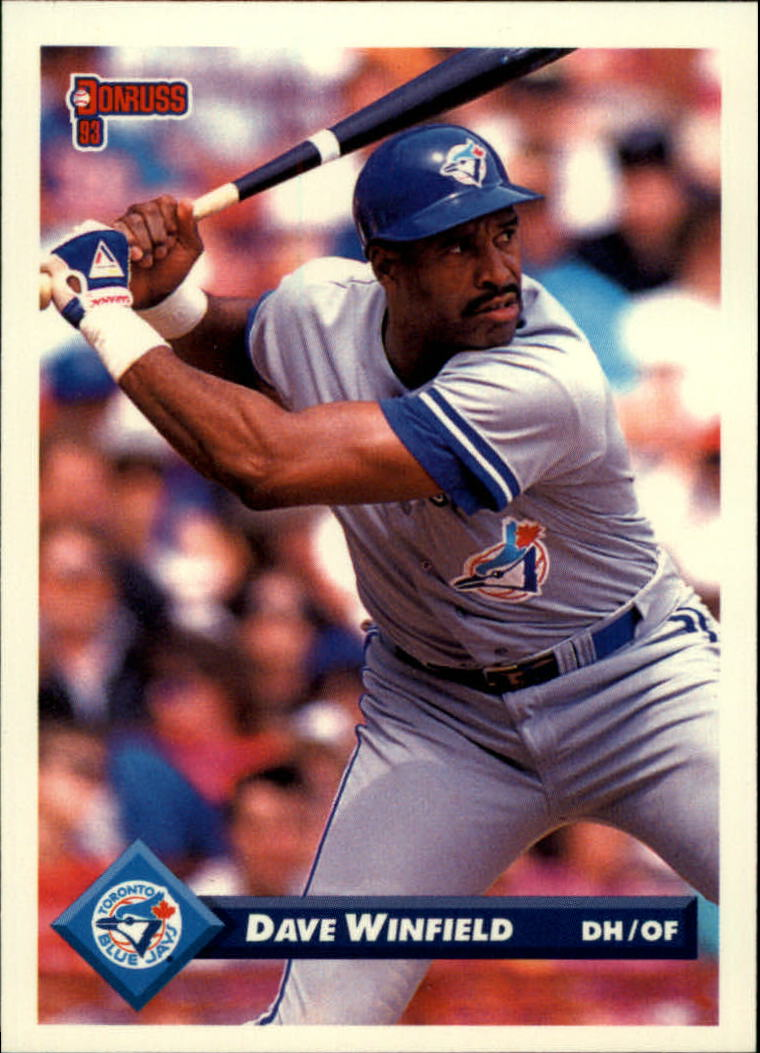 1993 Donruss #643 Dave Winfield