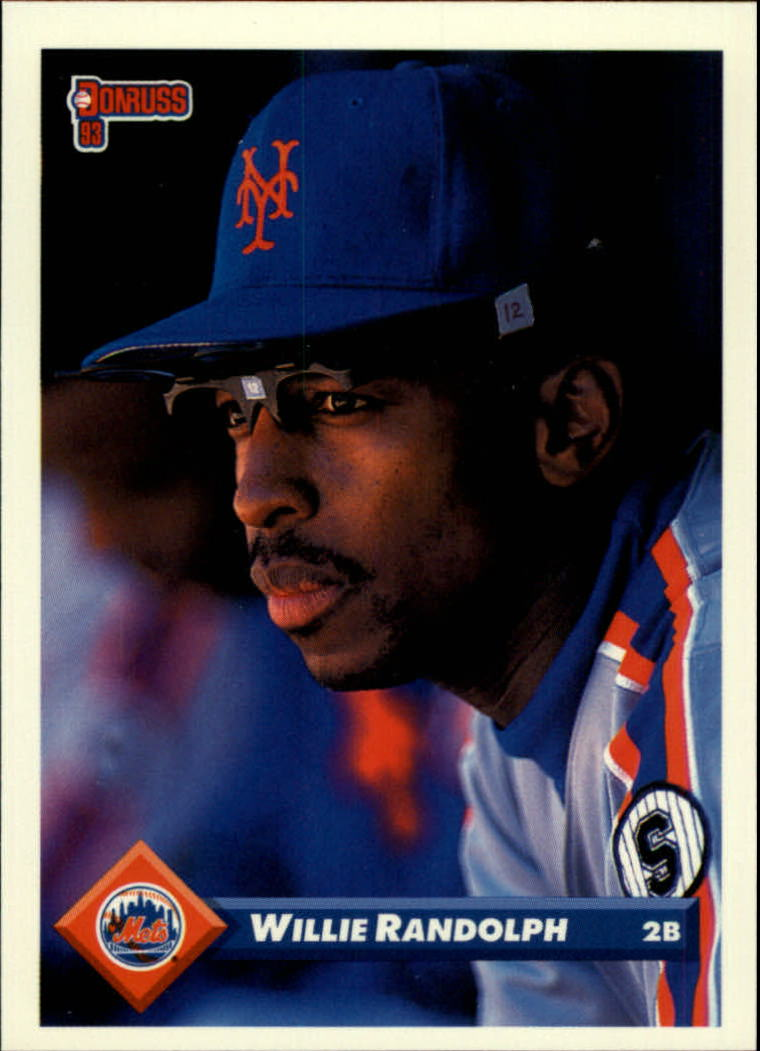 1993 Donruss #644 Willie Randolph