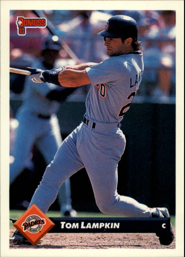 1993 Donruss #654 Tom Lampkin