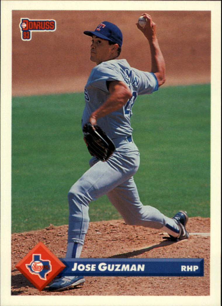 1993 Donruss #687 Jose Guzman