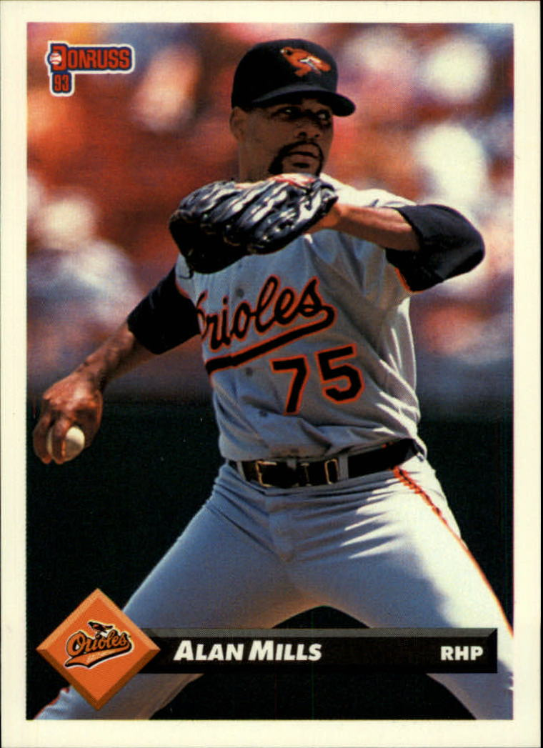 1993 Donruss #691 Alan Mills