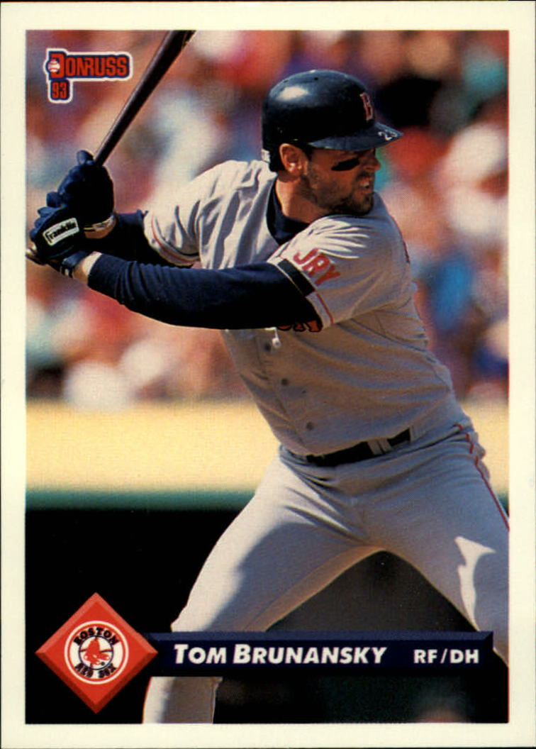 1993 Donruss #693 Tom Brunansky