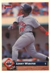 1993 Donruss #694 Lenny Webster