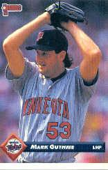 1993 Donruss #714 Mark Guthrie