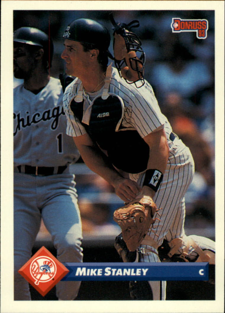 1993 Donruss #718 Mike Stanley