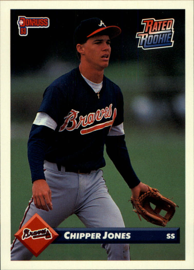 1993 Donruss #721 Chipper Jones