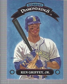 1993 Donruss Diamond Kings #DK1 Ken Griffey Jr.