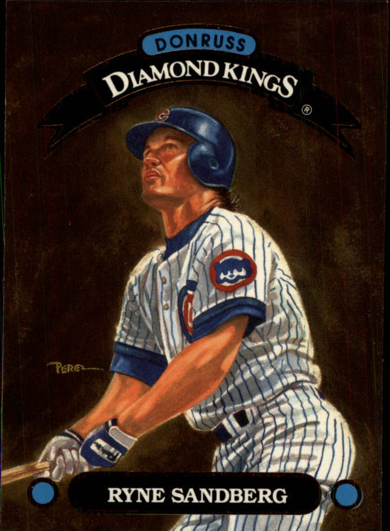 1993 Donruss Diamond Kings #DK2 Ryne Sandberg