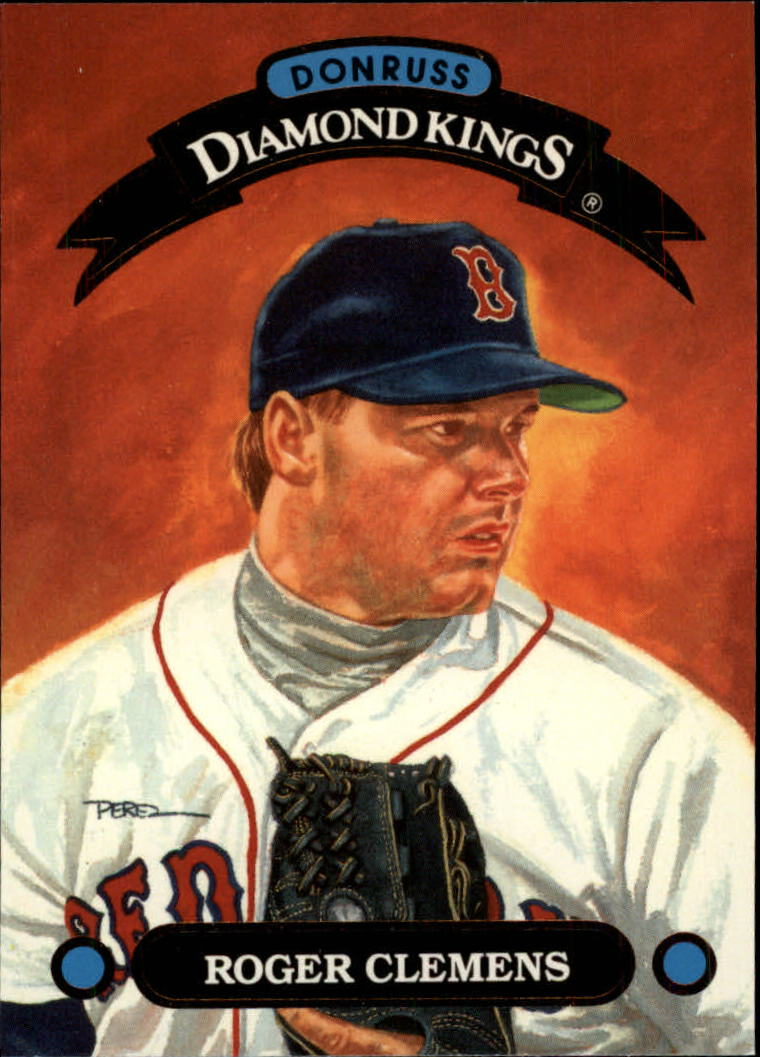 1993 Donruss Diamond Kings #DK3 Roger Clemens
