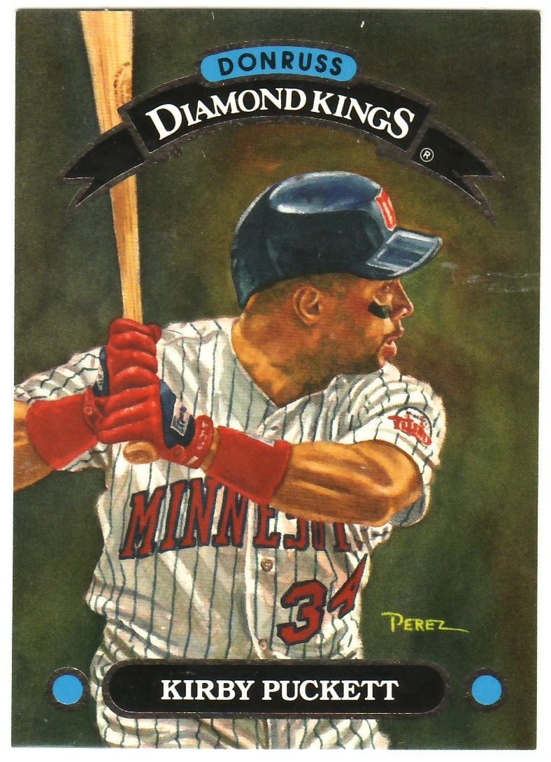 1993 Donruss Diamond Kings #DK4 Kirby Puckett