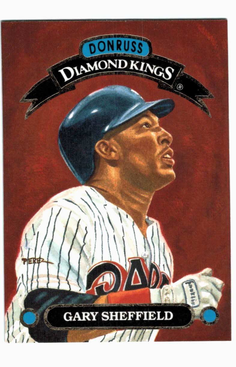 1993 Donruss Diamond Kings #DK21 Gary Sheffield