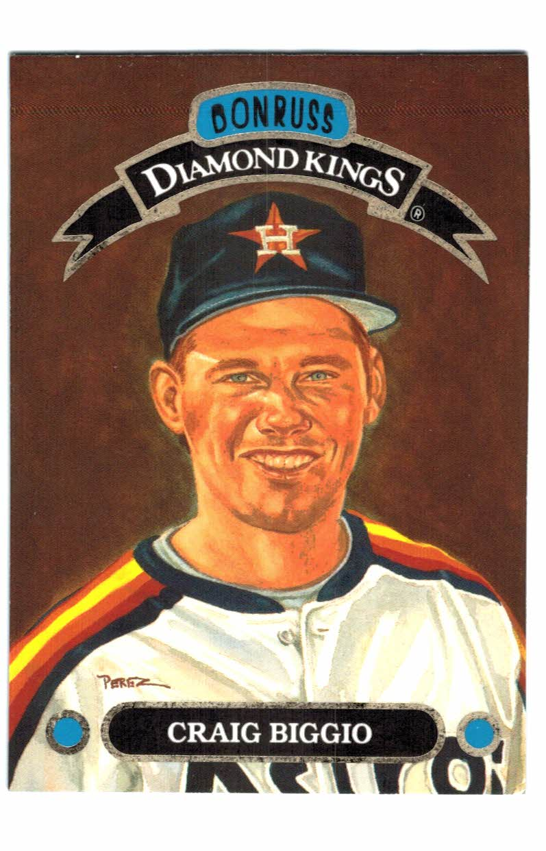 1993 Donruss Diamond Kings #DK24 Craig Biggio