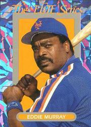1993 Donruss Elite #21 Eddie Murray