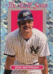 1993 Donruss Elite #24 Don Mattingly
