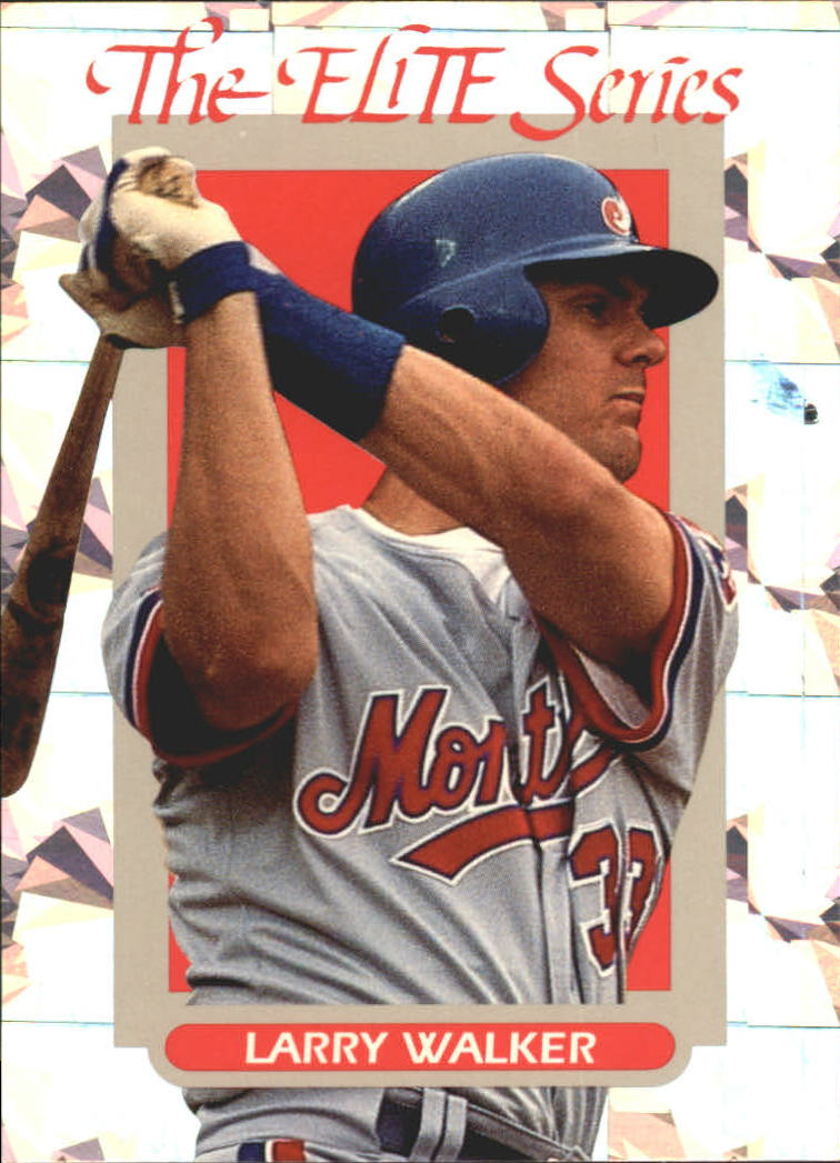 1993 Donruss Elite #30 Larry Walker