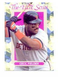 1993 Donruss Elite #34 Cecil Fielder