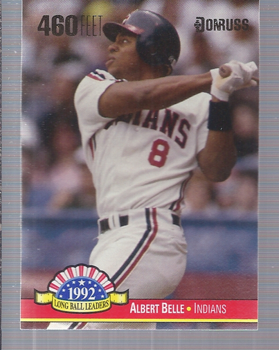 1993 Donruss Long Ball Leaders #LL3 Albert Belle