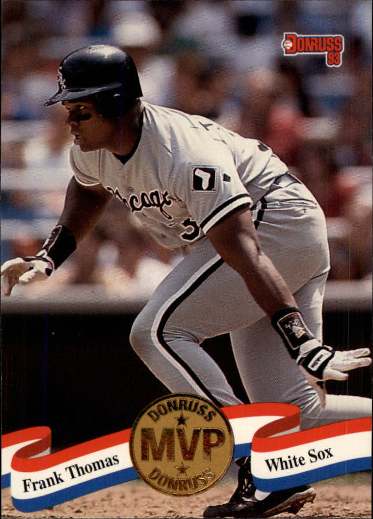 1993 Donruss MVPs #2 Frank Thomas