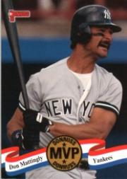 1993 Donruss MVPs #5 Don Mattingly