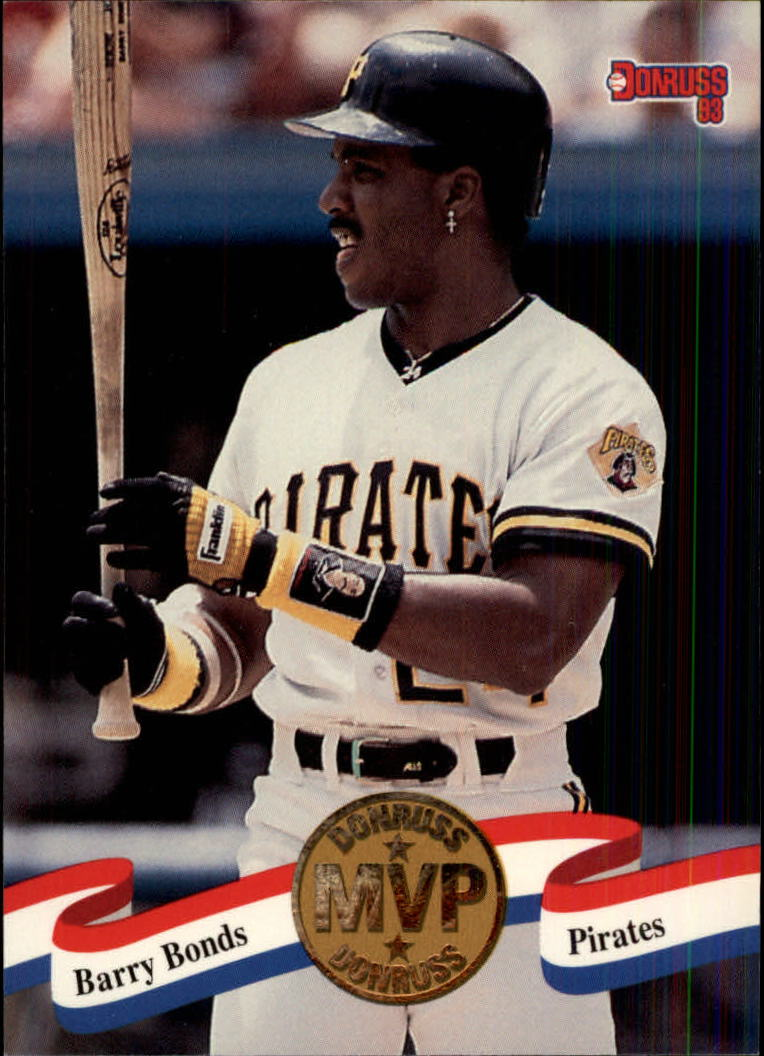 1993 Donruss MVPs #25 Barry Bonds