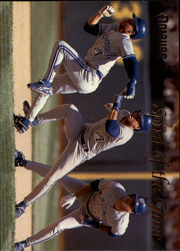 1993 Donruss Spirit of the Game #SG3 Roberto Alomar