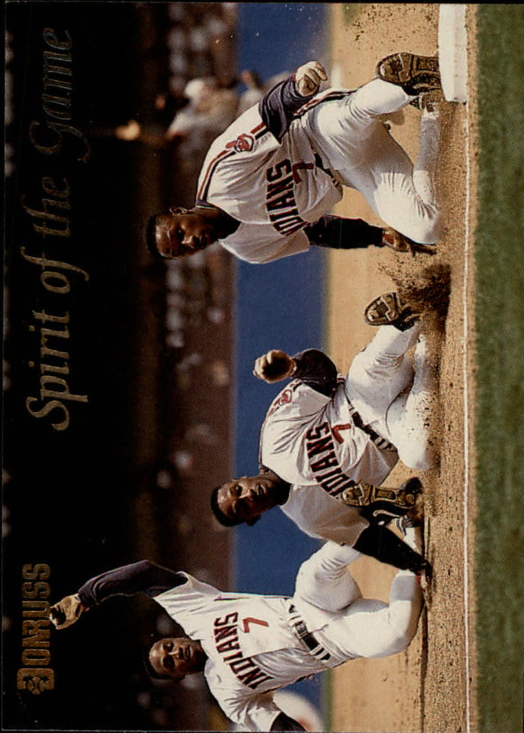 1993 Donruss Spirit of the Game #SG11 Kenny Lofton