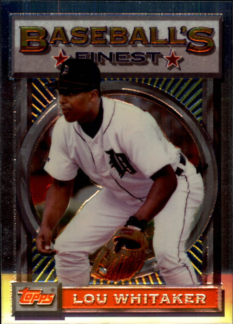 1993 Finest #2 Lou Whitaker