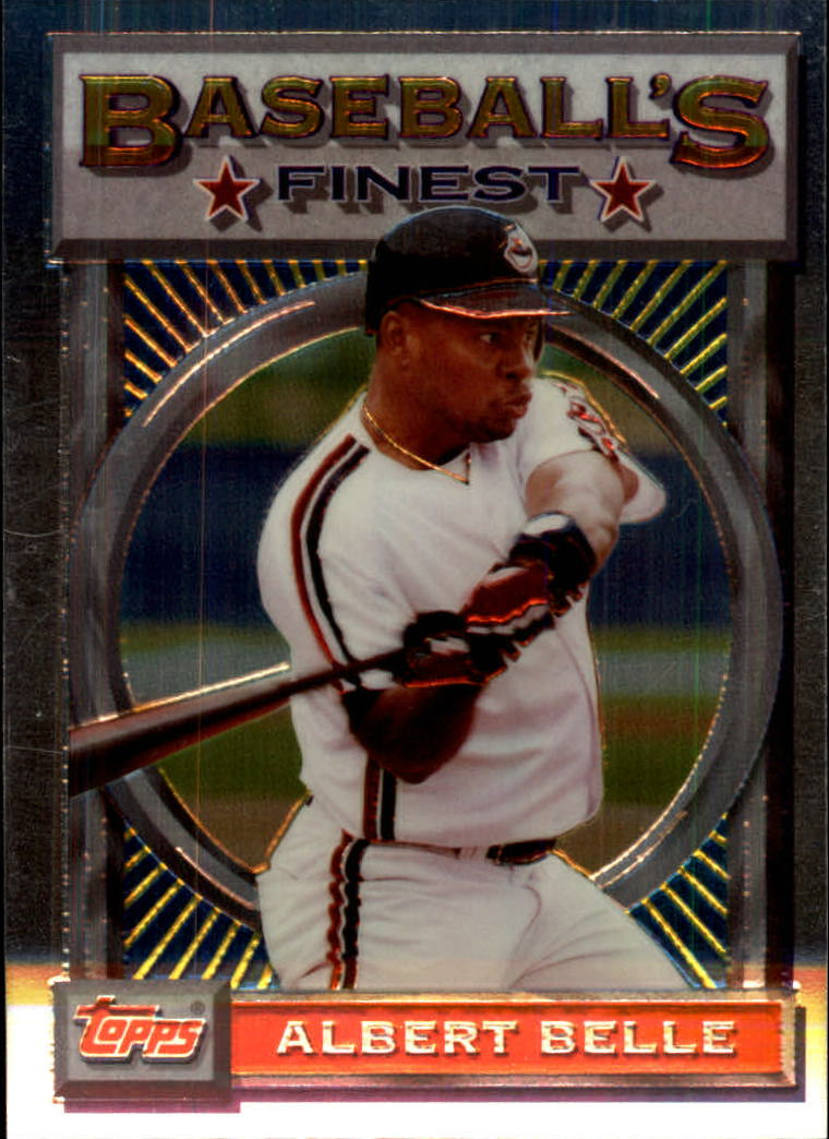 1993 Finest #16 Albert Belle