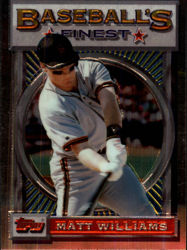 1993 Finest #25 Matt Williams