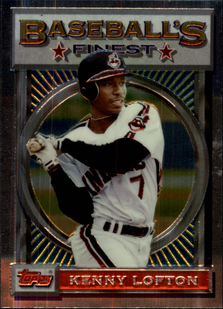 1993 Finest #43 Kenny Lofton