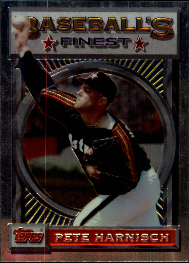 1993 Finest #62 Pete Harnisch