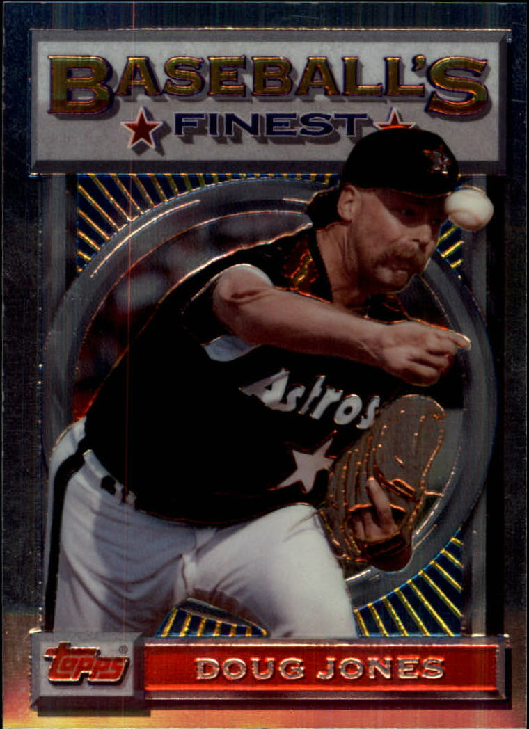 1993 Finest #69 Doug Jones