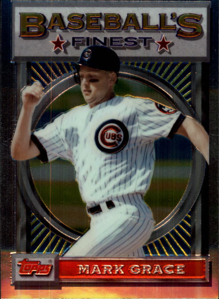 1993 Finest #73 Mark Grace