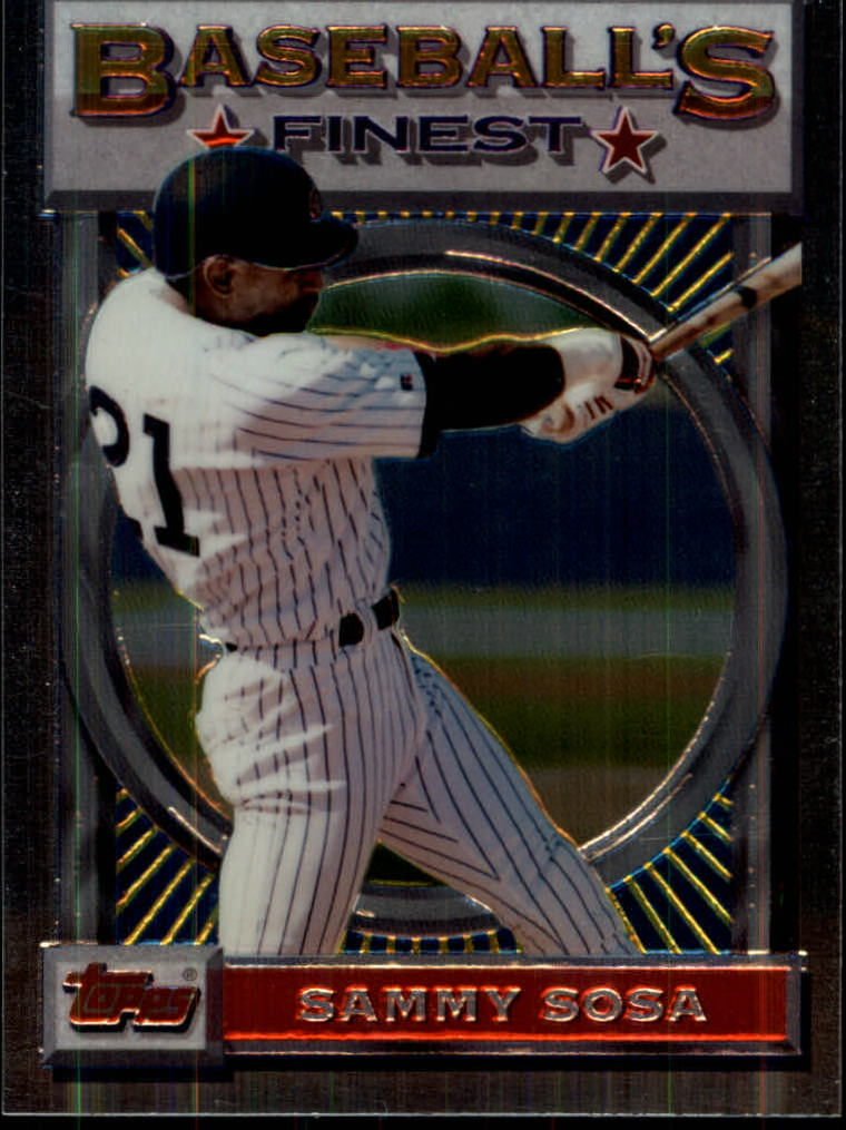1993 Finest #79 Sammy Sosa