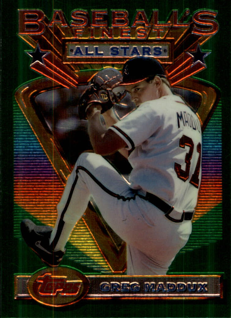 1993 Finest #85 Greg Maddux AS