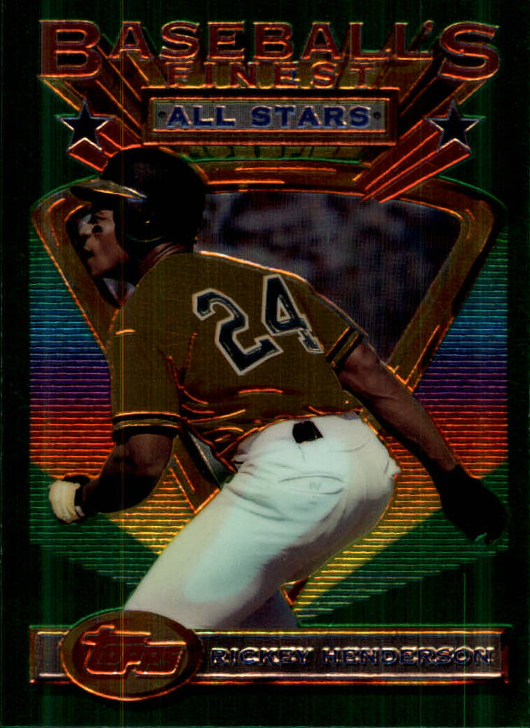 1993 Finest #86 Rickey Henderson AS