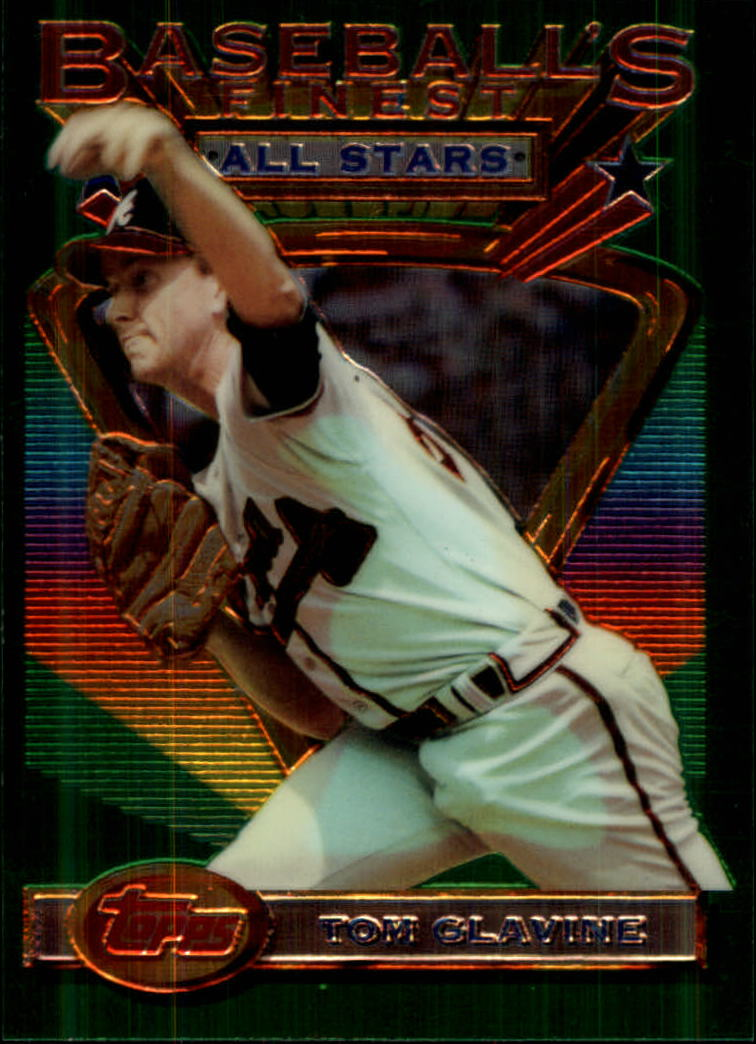 1993 Finest #87 Tom Glavine AS