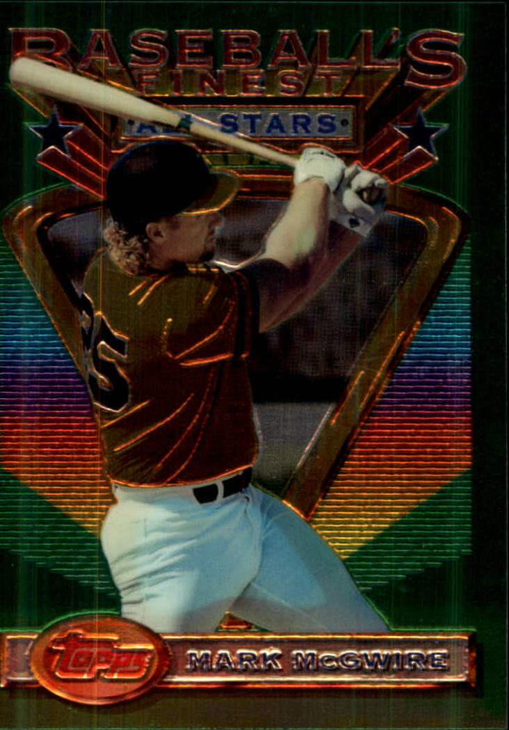 1993 Finest #92 Mark McGwire AS front image