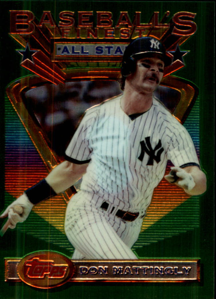 1993 Finest #98 Don Mattingly AS