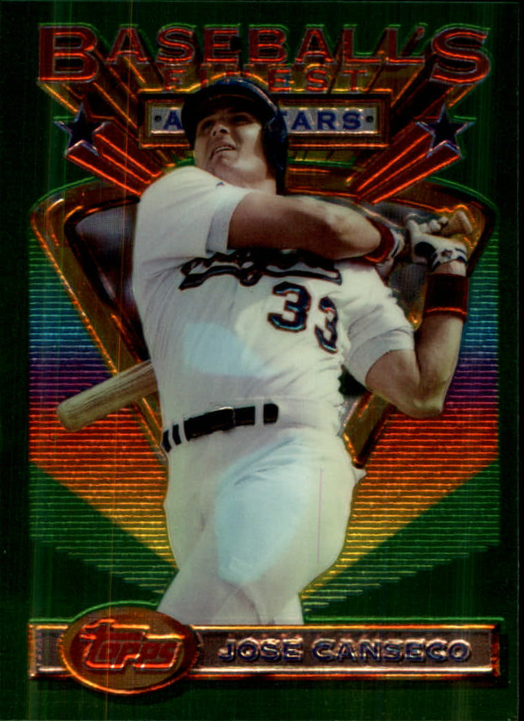 1993 Finest #99 Jose Canseco AS