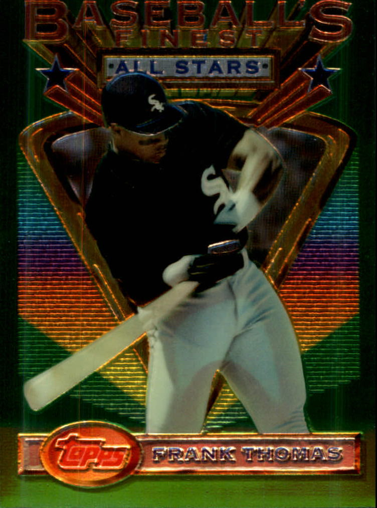 1993 Finest #102 Frank Thomas AS