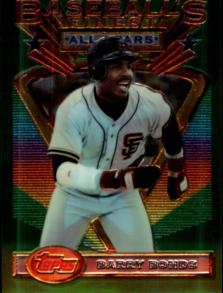 1993 Finest #103 Barry Bonds AS