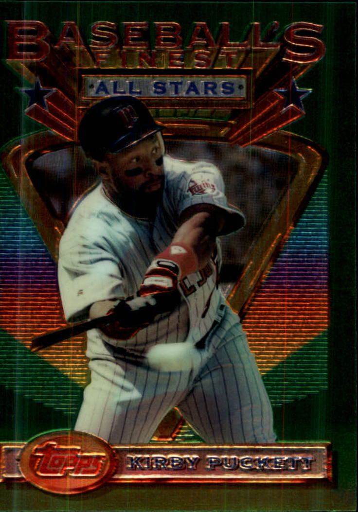 1993 Finest #112 Kirby Puckett AS