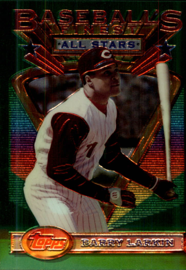 1993 Finest #114 Barry Larkin AS