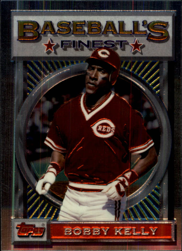 1993 Finest #120 Roberto Kelly