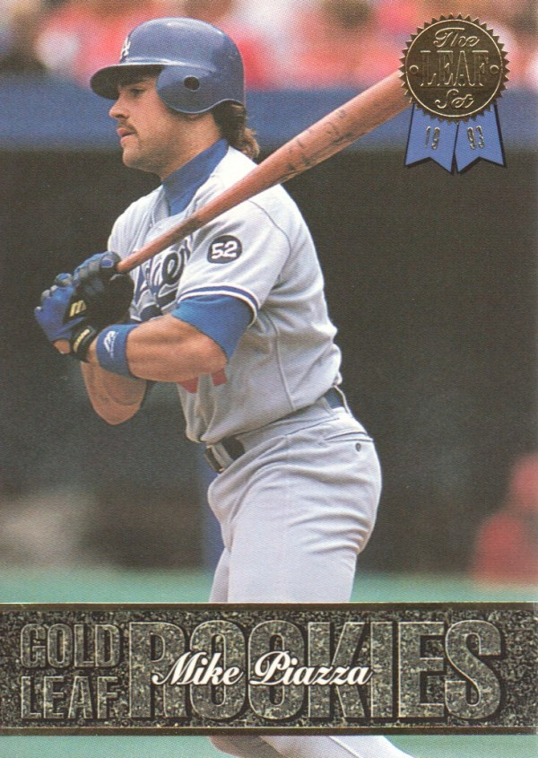 1993 Leaf Gold Rookies #U4 Mike Piazza